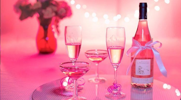 Дегустация розовых вин в начале апреля